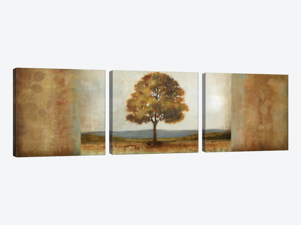 Elusive Treescape II by Allison Pearce 3-piece Art Print