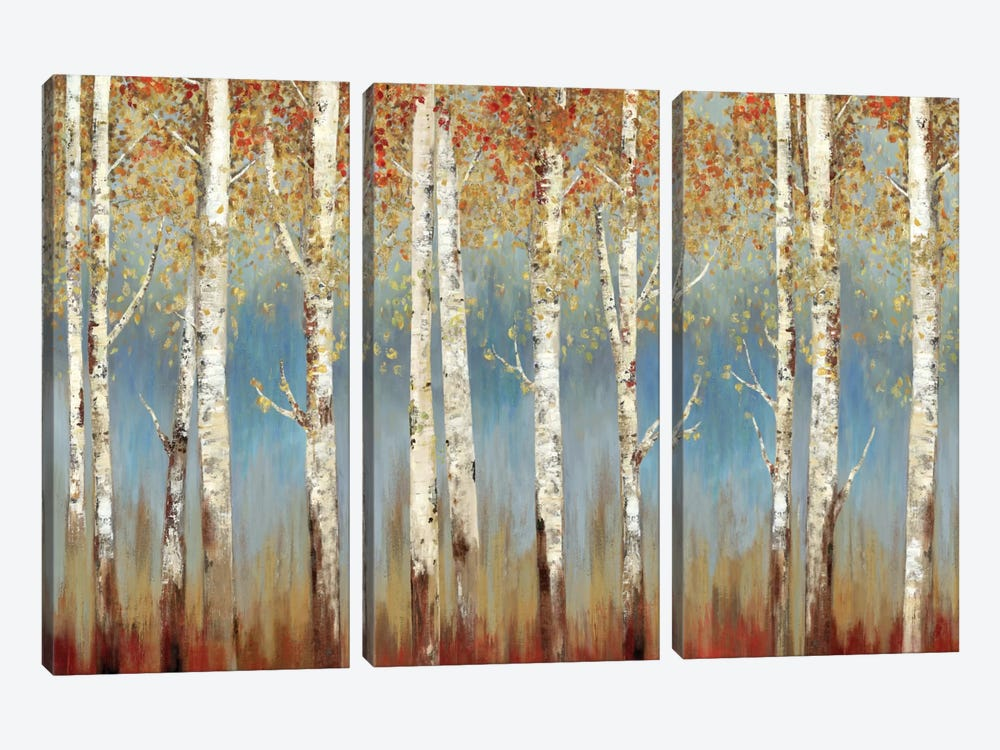 Falling Embers I by Allison Pearce 3-piece Canvas Art
