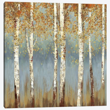 Falling Embers III Canvas Print #ALP79} by Allison Pearce Canvas Artwork