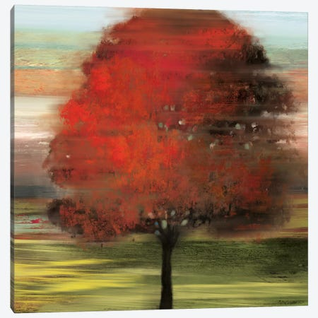 Flow Trees I Canvas Print #ALP83} by Allison Pearce Canvas Print