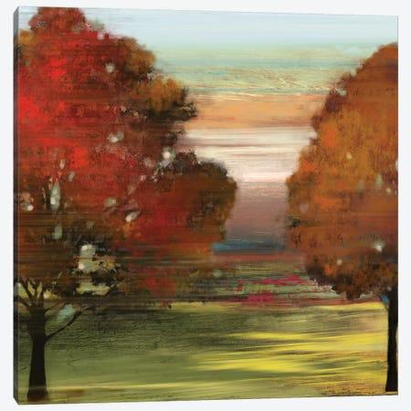 Flow Trees II Canvas Print #ALP84} by Allison Pearce Canvas Art