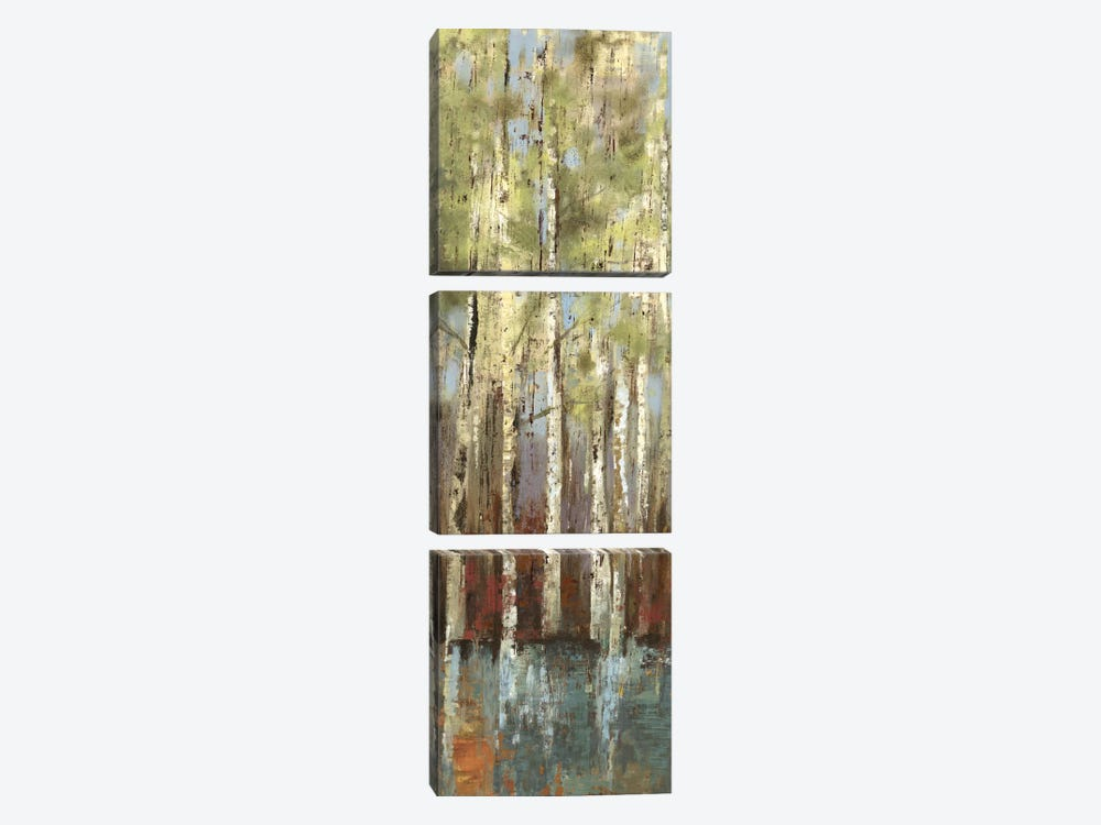 Forest Whisper I by Allison Pearce 3-piece Canvas Art