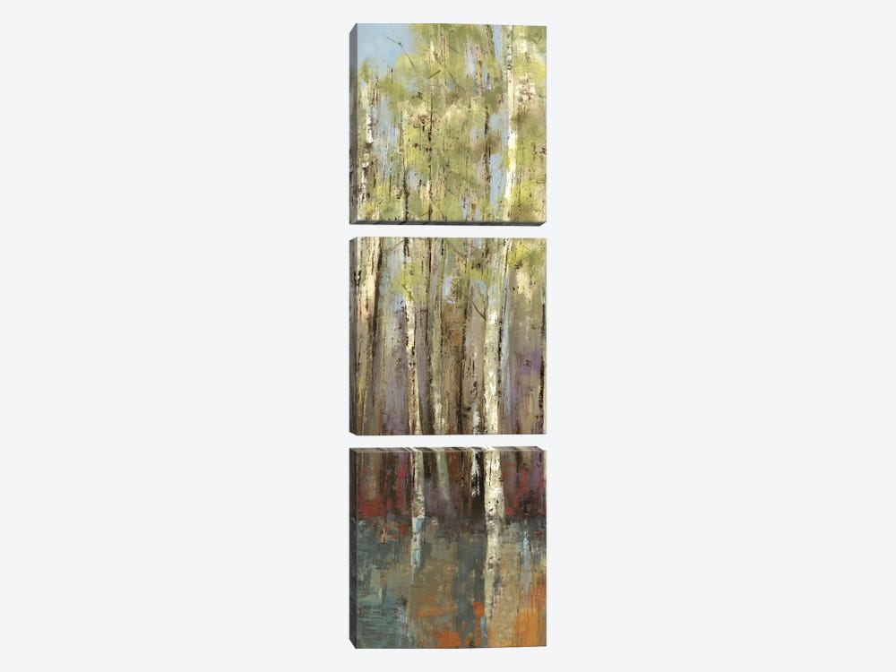 Forest Whisper II by Allison Pearce 3-piece Canvas Print