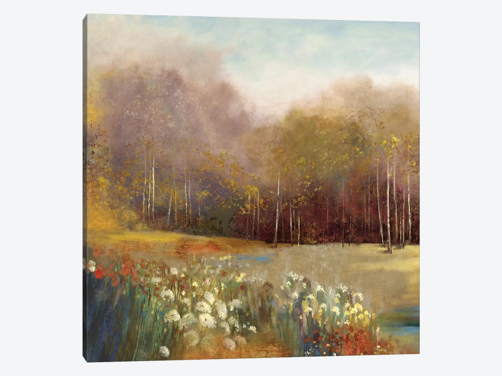 Garden Dreams I by Allison Pearce 1-piece Canvas Art Print