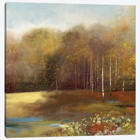 Garden Dreams II Canvas Print #ALP90} by Allison Pearce Canvas Art
