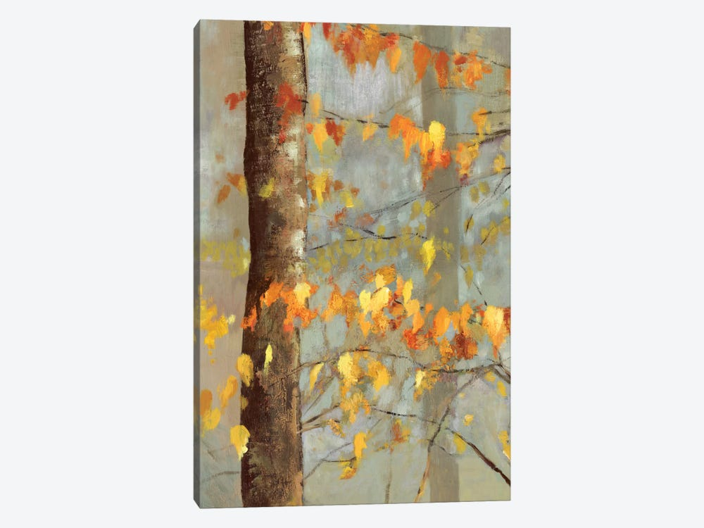 Golden Branches I by Allison Pearce 1-piece Canvas Wall Art