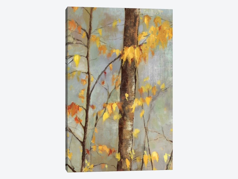 Golden Branches II by Allison Pearce 1-piece Canvas Print