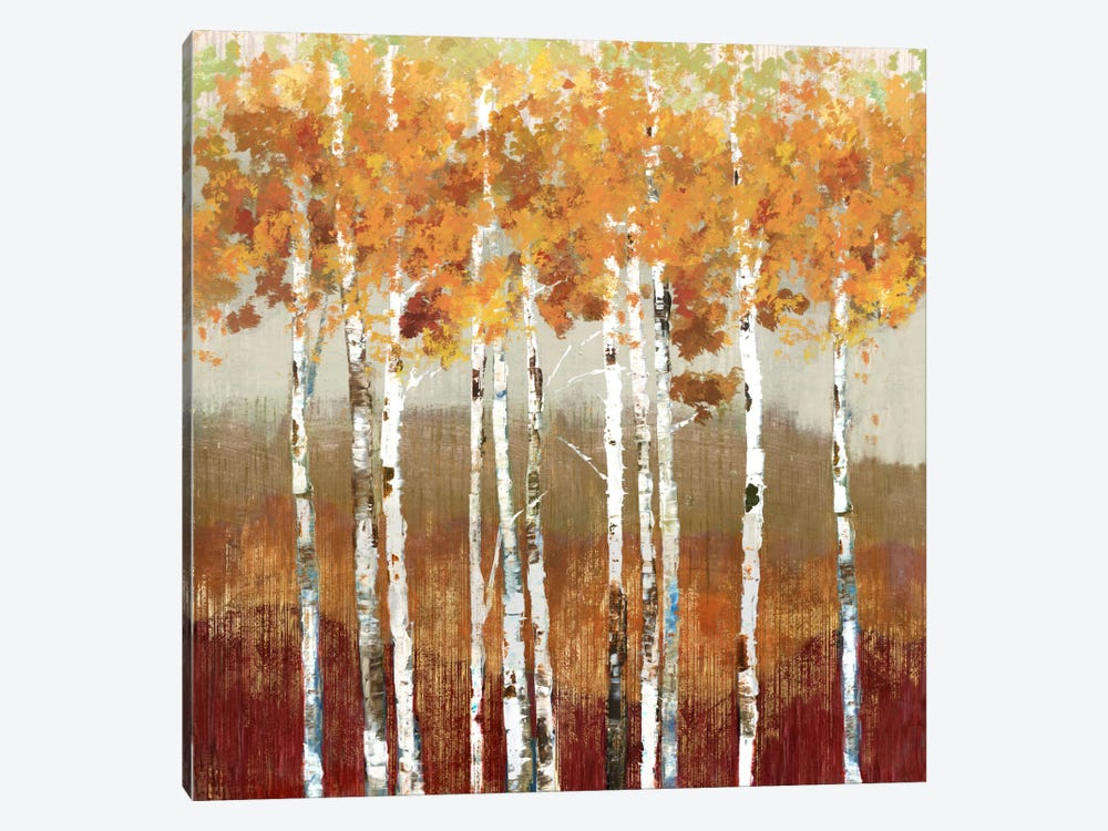 Golden Landscape by Allison Pearce 1-piece Canvas Wall Art