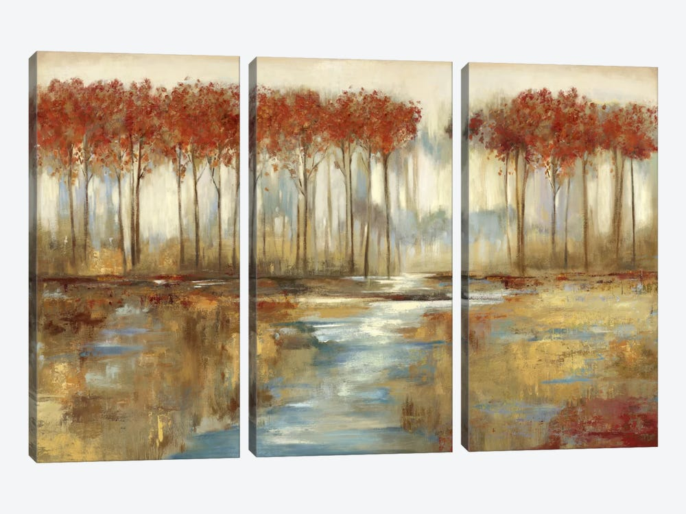 Gracious Landscape by Allison Pearce 3-piece Canvas Artwork