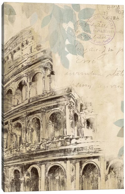 Architectural Study I Canvas Art Print