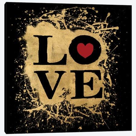 Heart Of Gold IV Canvas Print #ALS10} by Art Licensing Studio Art Print