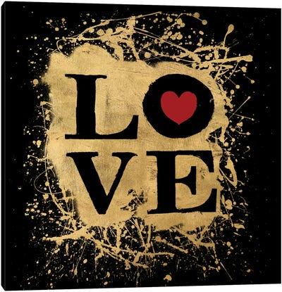 Heart Of Gold IV Canvas Art Print