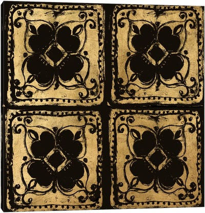 B&G Tileworks IV Canvas Art Print