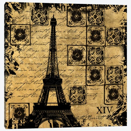 B&G Tour Eiffel Canvas Print #ALS6} by Art Licensing Studio Canvas Print