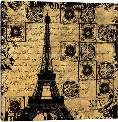 B&G Tour Eiffel Canvas Art Print