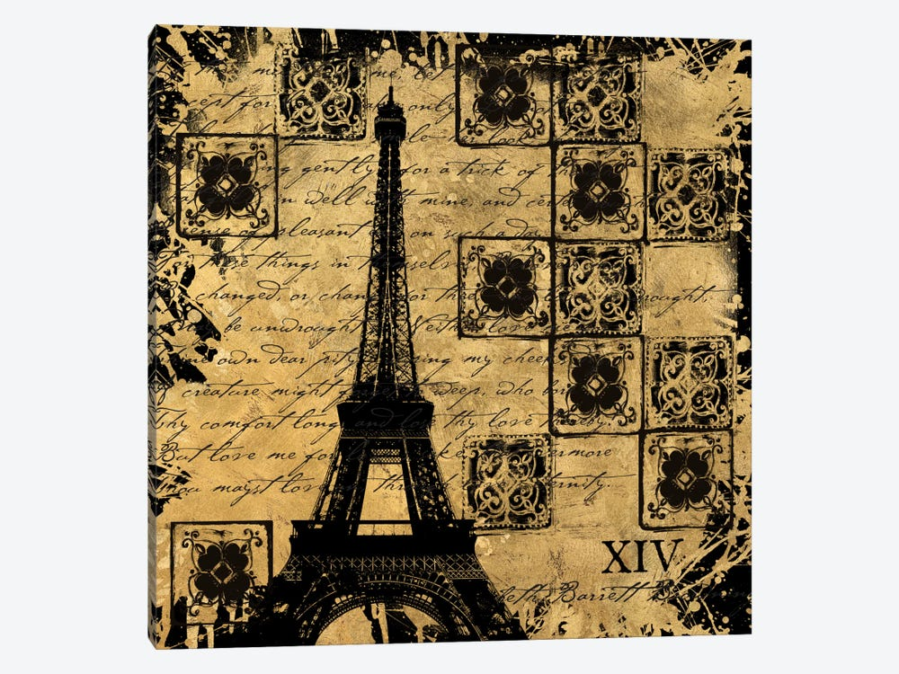 B&G Tour Eiffel by Art Licensing Studio 1-piece Canvas Art
