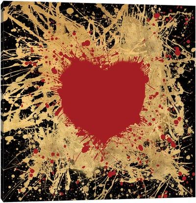 Heart Of Gold I Canvas Art Print