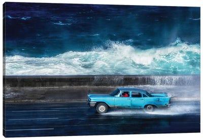 Oceanside Highway Canvas Art Print