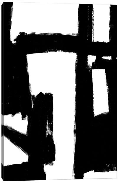 Structured I Canvas Art Print