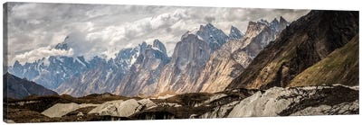 Baltoro Glacier, Karakoram Mountain Range, Gilgit-Baltistan Region, Pakistan Canvas Art Print