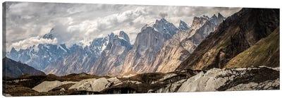 Baltoro Glacier, Karakoram Mountain Range, Gilgit-Baltistan Region, Pakistan Canvas Print #ALX10