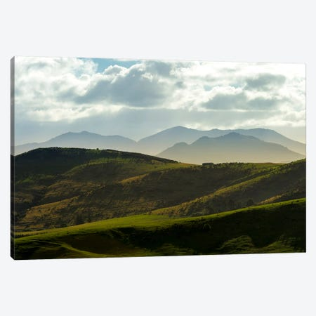Country Landscape, Central Otago, South Island, New Zealand Canvas Print #ALX15} by Alex Buisse Canvas Art Print