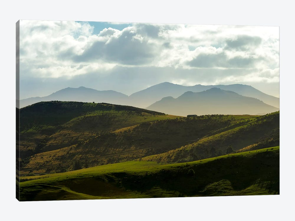 Country Landscape, Central Otago, South Island, New Zealand by Alex Buisse 1-piece Canvas Art Print