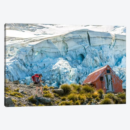 Day Hike By Sefton Bivouac, Aoraki/Mount Cook National Park, South Island, New Zealand Canvas Print #ALX18} by Alex Buisse Canvas Wall Art