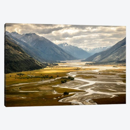 Hunter Valley, Wanaka, Otago Region, South Island, New Zealand. Canvas Print #ALX22} by Alex Buisse Art Print