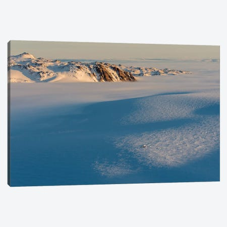 Last Light On A Base Camp On North Liverpool Land, Greenland Canvas Print #ALX26} by Alex Buisse Canvas Artwork