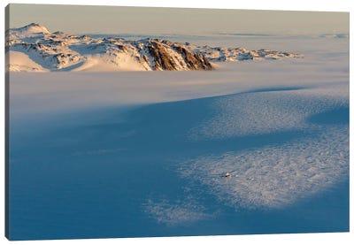 Last Light On A Base Camp On North Liverpool Land, Greenland Canvas Art Print