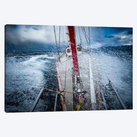 Rough Weather, Selma Expeditions, Cape Horn, Patagonia Canvas Print #ALX36} by Alex Buisse Canvas Print