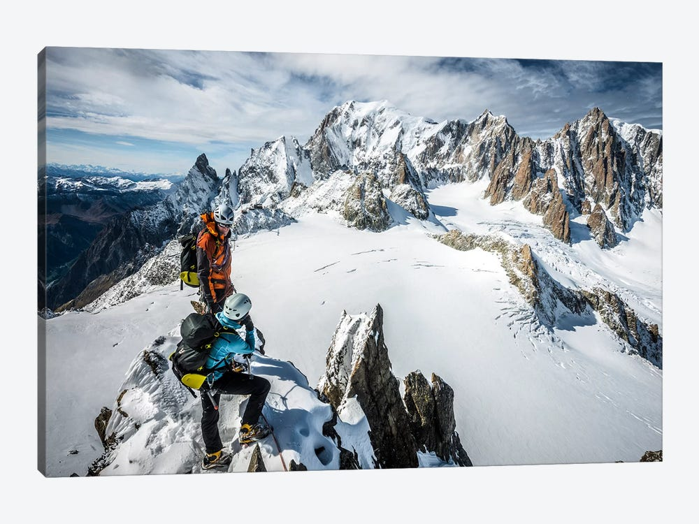 Summit, Aiguilles Marbrees, Mont Blanc Massif by Alex Buisse 1-piece Art Print