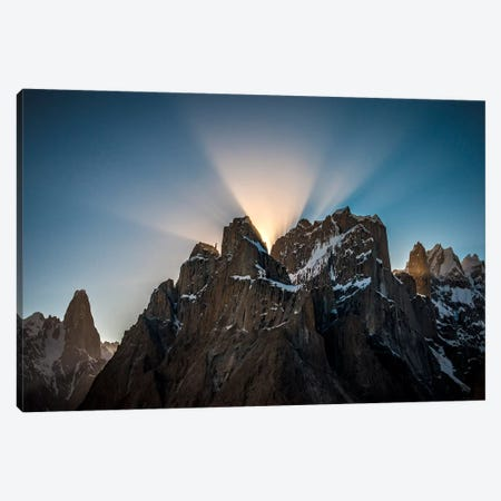 Trango Towers, Baltoro Muztagh, Gilgit-Baltistan Region, Pakistan Canvas Print #ALX45} by Alex Buisse Canvas Wall Art