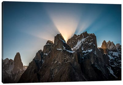 Trango Towers, Baltoro Muztagh, Gilgit-Baltistan Region, Pakistan Canvas Art Print