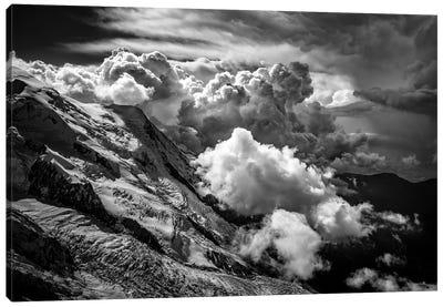 Aiguille du Midi, Mont Blanc Massif, French Alps II Canvas Print #ALX47
