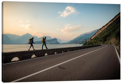 Arco Rock Climbing, Arco, Trentino, Northeast Italy III Canvas Print #ALX50