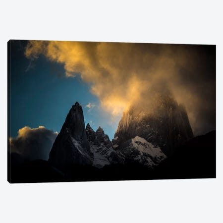 Aguja Poincenot & Cerro Fitz Roy, Patagonia, Argentina Canvas Print #ALX6} by Alex Buisse Canvas Art