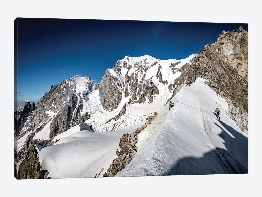 Tour Ronde, Mont Blanc Massif, Alps, On The Border Between France And Italy III by Alex Buisse 1-piece Canvas Artwork