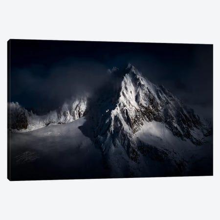 Aiguille du Tour, Chamonix, Haute-Savoie, Auvergne-Rhone-Alpes, France Canvas Print #ALX8} by Alex Buisse Canvas Print