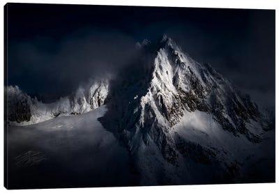 Aiguille du Tour, Chamonix, Haute-Savoie, Auvergne-Rhone-Alpes, France Canvas Art Print
