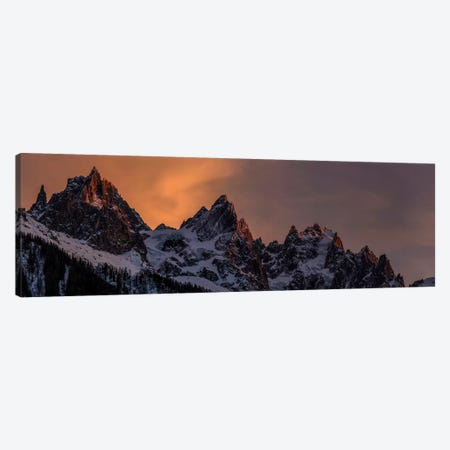 Aiguilles de Chamonix In The French Alps, Haute Savoie, France Canvas Print #ALX9} by Alex Buisse Canvas Print