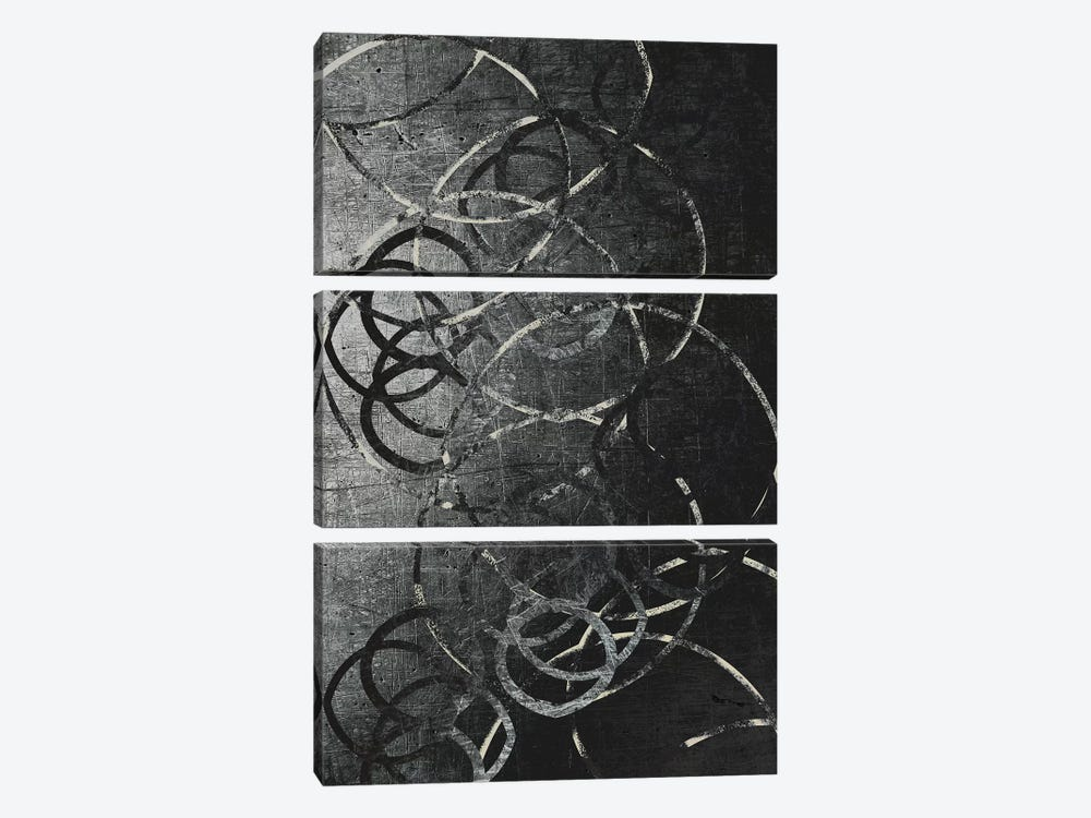Metallic Etchings by 5by5collective 3-piece Canvas Print