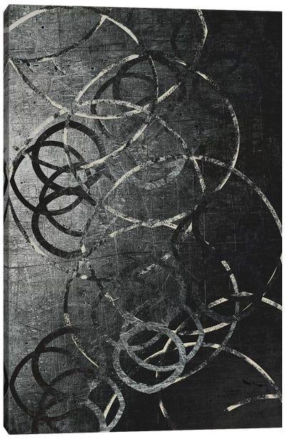 Metallic Etchings Canvas Art Print