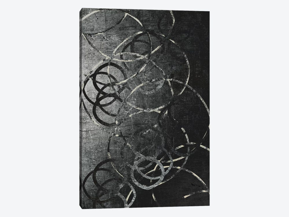 Metallic Etchings by 5by5collective 1-piece Canvas Print