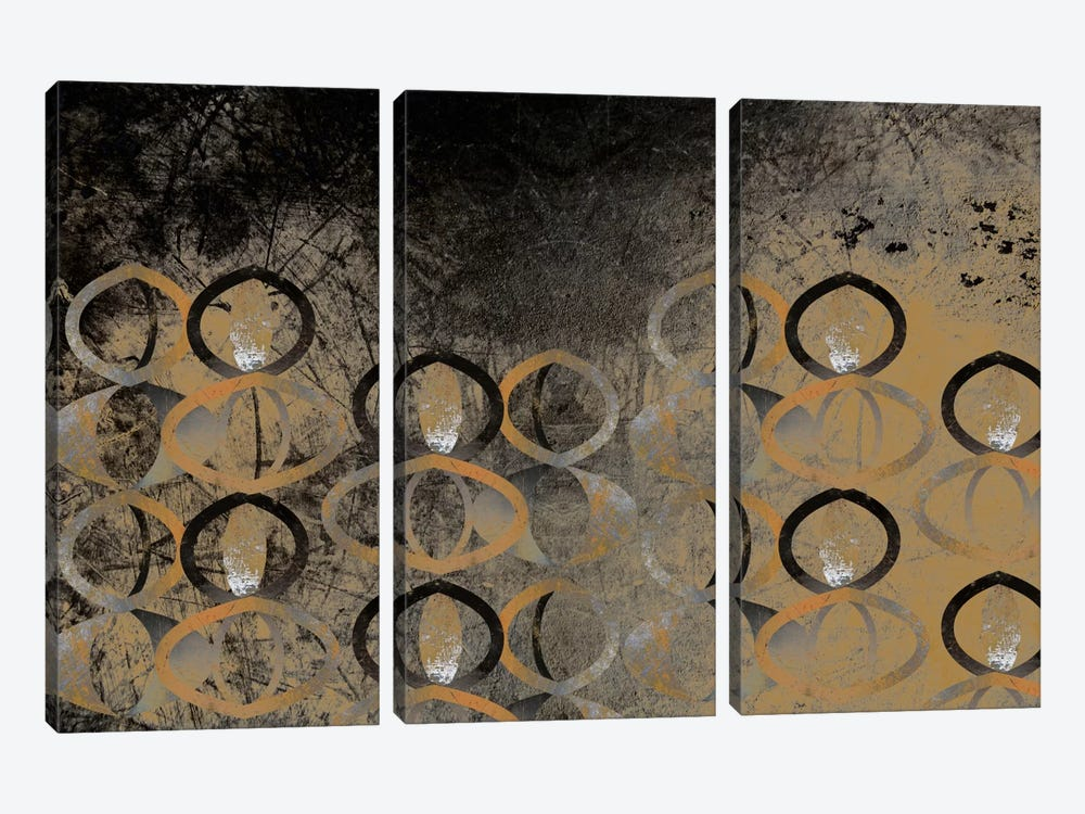Visual Perception by 5by5collective 3-piece Canvas Artwork