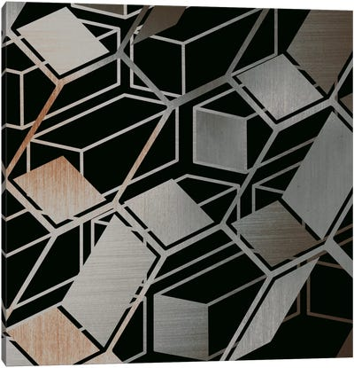 Cubed Canvas Art Print