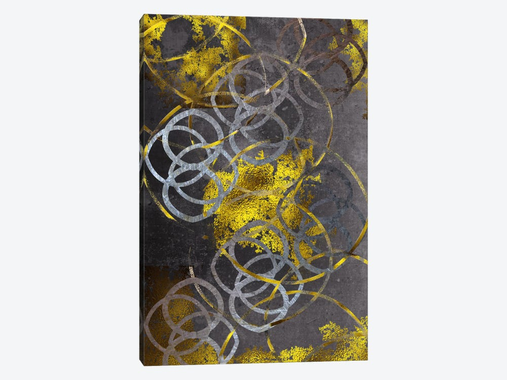 Gold Etchings by 5by5collective 1-piece Art Print