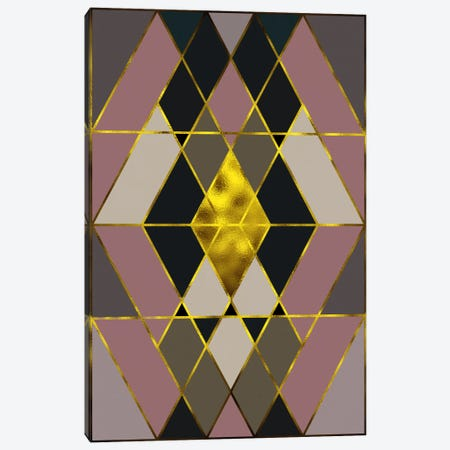 Trinity Gold Canvas Print #AMA9} by 5by5collective Canvas Artwork