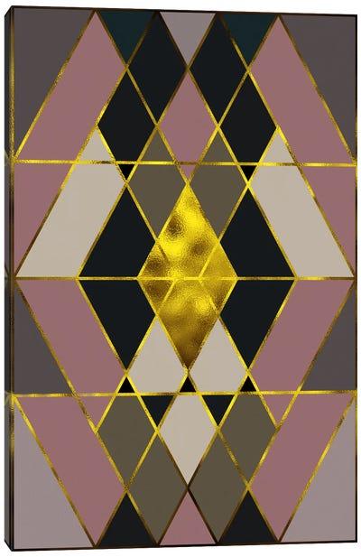 Trinity Gold Canvas Art Print